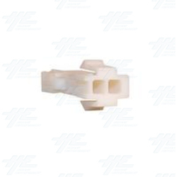 TYCO ELECTRONICS Universal Receptacle Housing, 2 Way Mate N Lok Plug - 172157-1