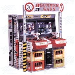 Gunmen Wars DX Arcade Machine
