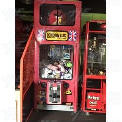 London Bus Crane Machine