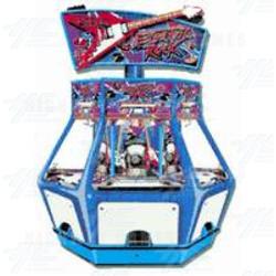 Electric Rock (6 player) Pusher Machine