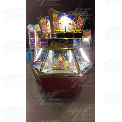 Harry Levy Circus Circus Coin Pusher Machine