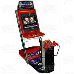 Confidential Mission Naomi Upright Arcade Machine