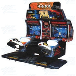Motor Raid Twin Arcade Machine