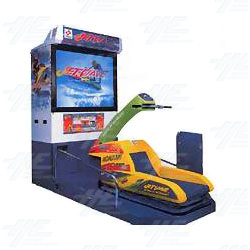 Jet Wave Arcade Machine