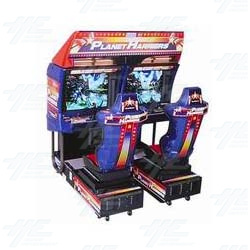 Planet Harriers Twin Arcade Machine