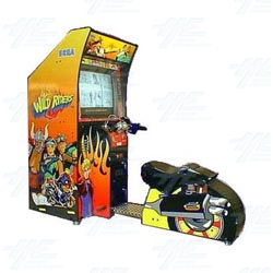 Wild Riders Arcade Machine