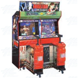 Gun Survivor 2 : Biohazard Code Veronica Arcade Machine