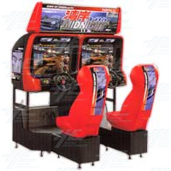 Wangan Midnight Twin Arcade Machine