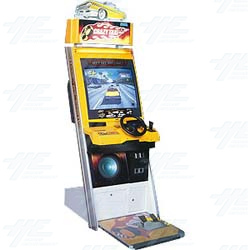 Initial D in Crazy Taxi Cabinet