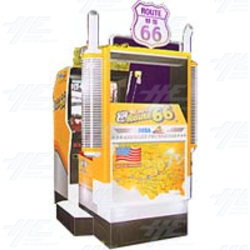 King of Route 66 DX Arcade Machine