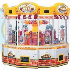 Big Sweet Land Arcade Machine with Cooler