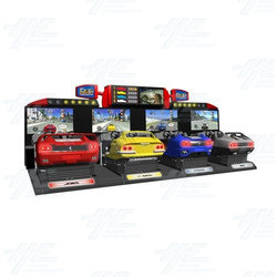 OutRun 2 SP SDX (4 Car) Arcade Driving Machine