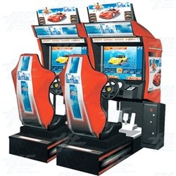 OutRun 2 Twin Arcade Driving Machine