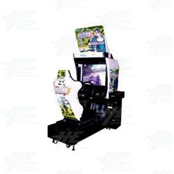 Initial D Arcade Stage Ver. 3 SD Arcade Machine