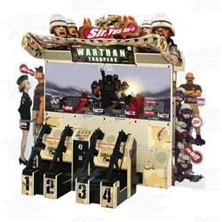 Wartran Troopers DX Arcade Machine