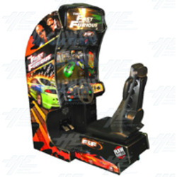 The Fast and The Furious SD Arcade Machine