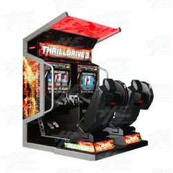 Thrill Drive 3 Arcade Machine
