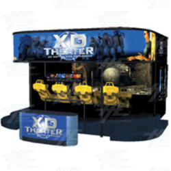XD Theater 3D Motion Simulator