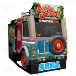 Let's Go Jungle Arcade Machine (Japanese Version)