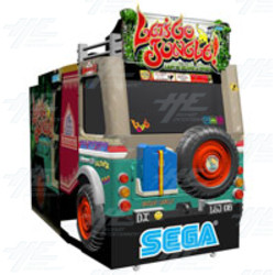 Let's Go Jungle Arcade Machine (English Version)