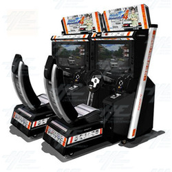 Initial D Ver. 4 Arcade Machine (2 Units with Server)