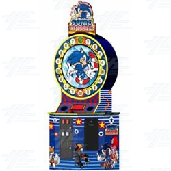 Sonic Spinner Arcade Machine
