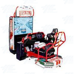 Sega Rally 2 DX Arcade Machine