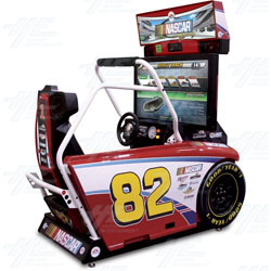 EA Sports NASCAR Racing DX Arcade Machine