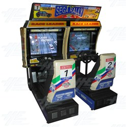 Sega Rally Twin Arcade Driving Machine (Only one side working)