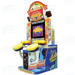 Percussion Master Arcade Machine