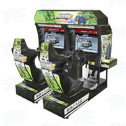 Initial D Arcade Stage Ver. 3 Twin Arcade Machine
