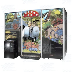Lets Go Jungle Special Arcade Machine