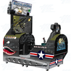 Blazing Angels: Squadrons of WWII DLX Arcade Machine
