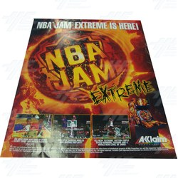 NBA Jam Extreme Poster