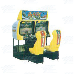 Race On Twin Arcade Machine