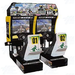 Club Kart Twin Arcade Machine