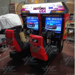 Daytona USA Twin Driving Arcade Machine (Japan Model)