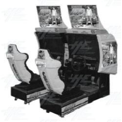Initial D Arcade Stage Ver. 2 Twin Arcade Machien