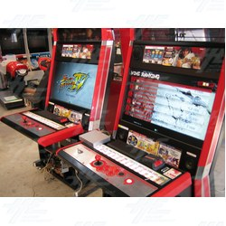 Super Street Fighter IV Arcade 2012 Edition in Red Vewlix F Cabinet