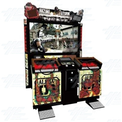 Razing Storm DX Arcade Machine