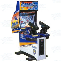 Gunblade NY SD Arcade Machine