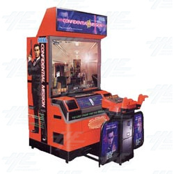 Confidential Mission DX Arcade Machine