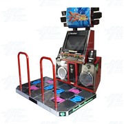 Dance Dance Revolution X3 (DDRX3) Arcade Machine