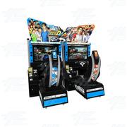 INITIAL D7 AAX Arcade Twin Driving Machine