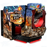 Monster Eye 5D Deluxe Theater Cabinet Arcade Machine