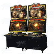 Tekken 7: Fated Retribution Arcade Machine (twin cabinet set)