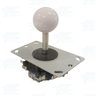 White Ball Top Joystick for Arcade Machine