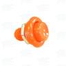 Pushbutton for Pinball Machine - Orange